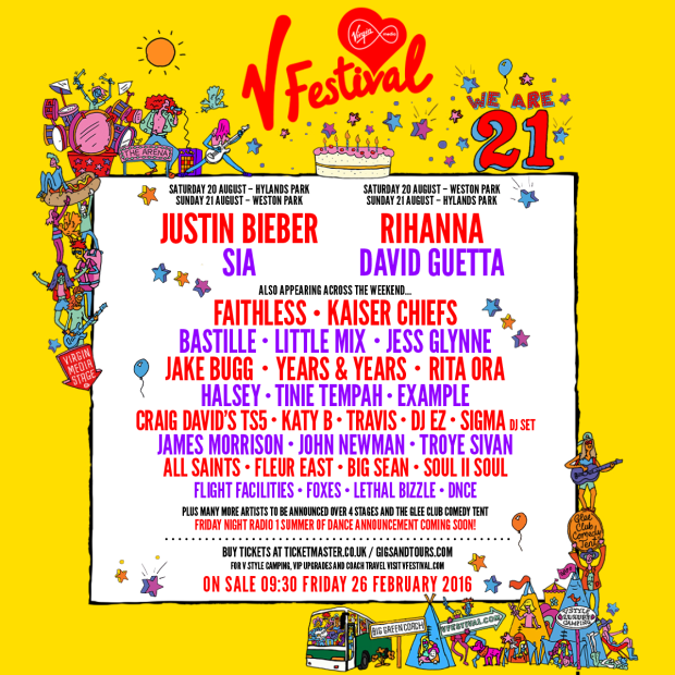 V-Festival-2016-Lineup-Announcement